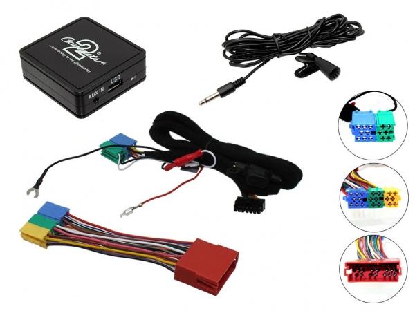 Connects2 CTAADBT003 Bluetooth Nachrüstung für Audi mit ISO ...