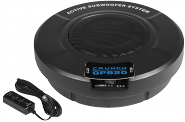 Crunch GP820 20cm Aktiv-Subwoofer