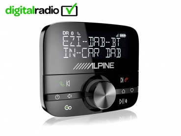 Alpine EZi-DAB-BT DAB+ Interface für Digital Radio mit Bluetooth-Freisprechfunktion
