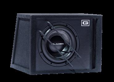 gladen sqx 08 vb 20cm bassreflex subwoofer car. Black Bedroom Furniture Sets. Home Design Ideas