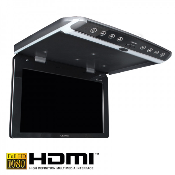 ampire ohv101 hd 10 full hd deckenmonitor mit hdmi car. Black Bedroom Furniture Sets. Home Design Ideas